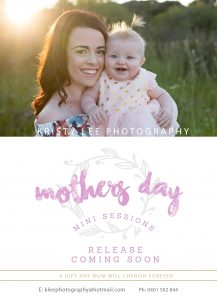 mothers day perth photo mini sessions