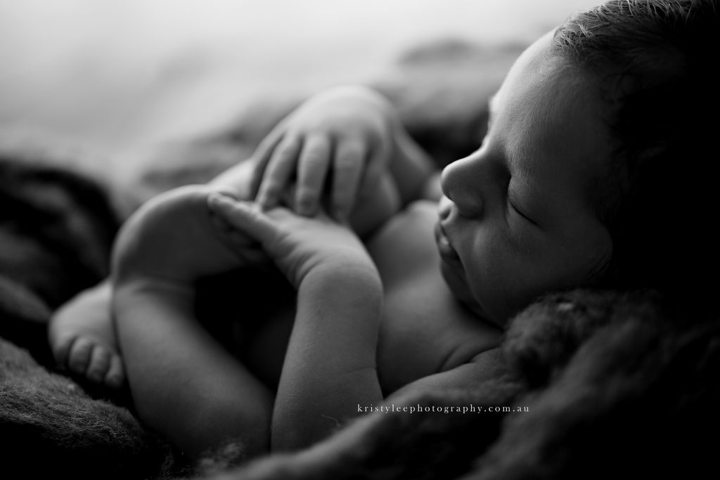 newborn natural light
