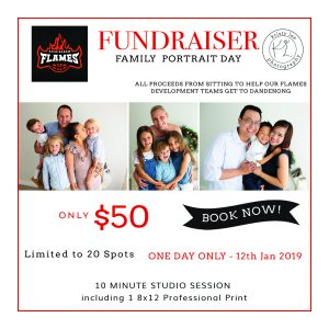 Rockingham Flames Family Photo Fundraiser