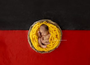 Aboriginal Flag Newborn